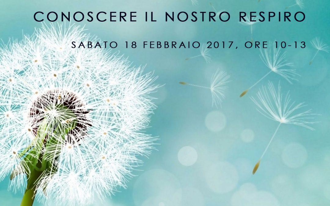 """Speciale YOGA """"Conoscere il nostro respiro"""" 18/02/2017"""